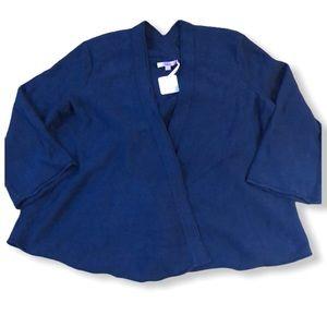 Calypso St. Barth Daria Wrap Cardigan Size M